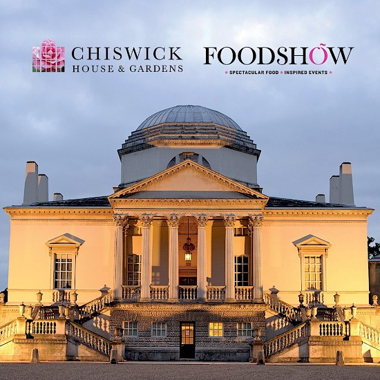 Chiswick House and Gardens Trust appoint Food Show as exclusive catering partners for private hire events.